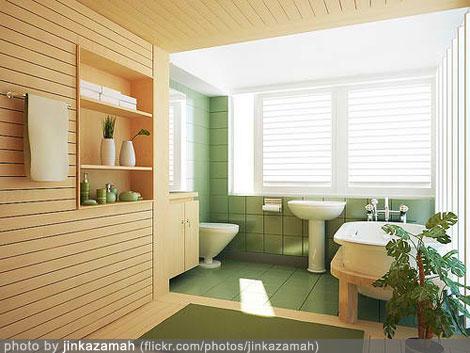 bathroom design interior - pastel theme