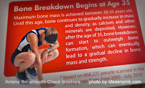 Osteoporosis: Bone breakdown begins at age 35