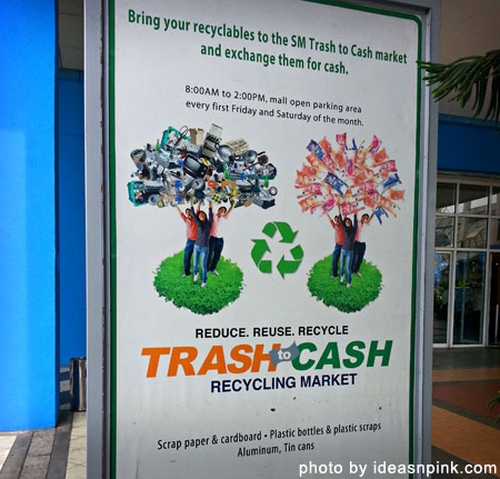 Trash to Cash Recycling Market at SM