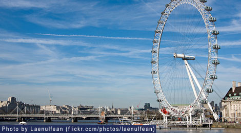 Mixing business and leisure in London