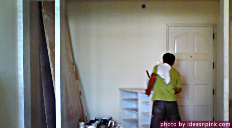 Home renovation and cleanliness