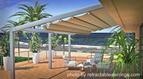 Home Design Tips Retractable Awnings