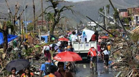 A close friend is a Yolanda victim in Palo, Leyte